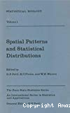 Statistical Ecology. 1, Spatial Patterns and Statistical Distributions