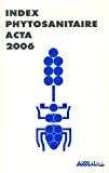 Index phytosanitaire 2006. 42ème édition.