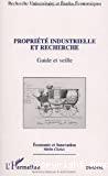 Propriété industrielle et recherche