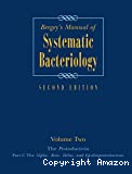 Bergey's manual of systematic bacteriology. Vol. 2 : The proteobacteria. Part C : The alpha-, bete-, delta-, and epsilonproteobacteria.