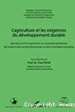 L' agriculture et les exigences du développement durable