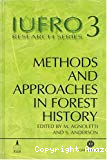 Methods and approachs in forest history.