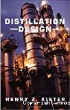 Distillation design.