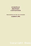 Proceedings of the 23rd congress of the European Brewery Convention (1991, Lisbonne, Portugal).