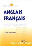 Guide anglais-français de la traduction