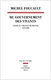 Du gouvernement des vivants
