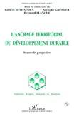L'ancrage territorial du développement durable : de nouvelles perspectives