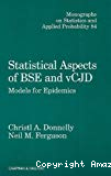 Statistical Aspects of BSE