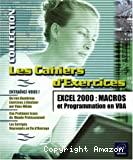 Excel 2000 : macros et programmation en VBA.