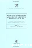 Mathematical and control applications in agriculture and horticulture