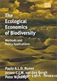 The ecological economics of biodiversity