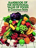 Handbook of the nutritional contents of foods.