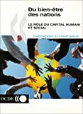Du bien-être des nations : le rôle du capital humain et social. Enseignement et compétences
