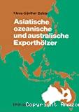 Asiatische ozeannische und australische exportholzer.