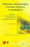 Méthodes instrumentales d'analyse chimique et applications