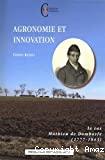 Agronomie et innovation : le cas de Mathieu de Dombasle (1777-1843).