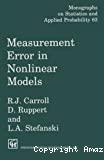 Measurement error in nonlinear models.