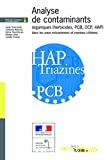 Analyse de contaminants organiques (herbicides, PCB, OCP, HAP) dans les eaux estuariennes et marines côtières