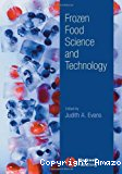 Frozen food science and technology.