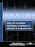 Stata par la pratique: statistiques, graphiques et éléments de programmation