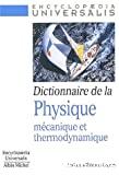 Dictionnaire de la physique