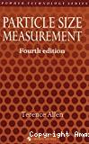 Particle size measurement.