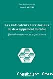 Les indicateurs territoriaux de développement durable