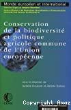 Conservation de la biodiversité et politique agricole commune