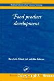Food product development.