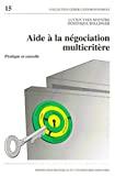 Aide à la négociation multicritère