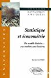 Statistique et économétrie : du modèle linéaire aux modèles non-linéaires