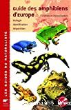 Guide des amphibiens d'Europe