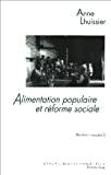 Alimentation populaire et réforme sociale