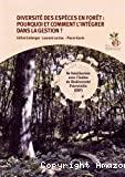 Diversité des espèces en forêt : pourquoi et comment l'intégrer dans la gestion ?