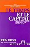 Le Temps et le capital