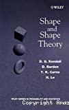 Shape and shape theory.