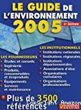 Guide de l'environnement 2005