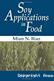 Soy applications in food.