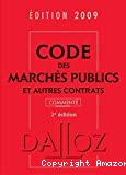 Code des marchés publics et autres contrats. 2e édition.