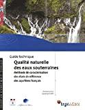 Guide technique qualité naturelle des eaux souterraines