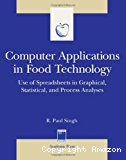 Computer applications in food technology. Use of spreadsheets in graphical, statistical, and process analyses.