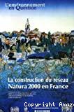 La construction du réseau Natura 2000 en France