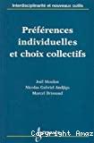 Préférences inidviduelles et choix collectifs
