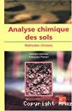 Analyse chimique des sols