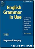 English grammar in use : a self-study reference and practice book for intermediate students of English - with answers