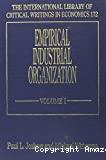 Empirical industrial organization