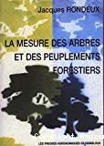 La mesure des arbres et des peuplements forestiers. 2ème édition.