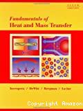 Fundamentals of heat and mass transfer.