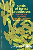 Seeds of forest broadleaves : from harvest to sowing