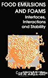 Food emulsions and foams. Interfaces, interactions and stability - Conference (16/03/1998 - 18/03/1998, Seville, Espagne).